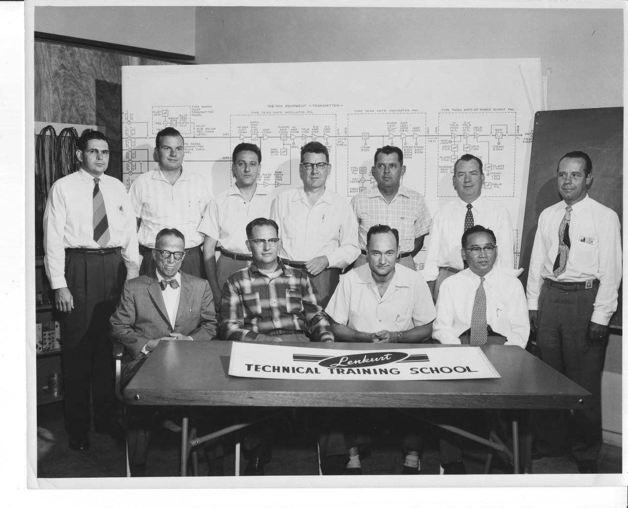 Lenkurt Technical Training School  1950